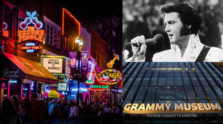 From Elvis Presley's home to the heart of country music, here's a list of the best US music landmarks to tick off your bucket list