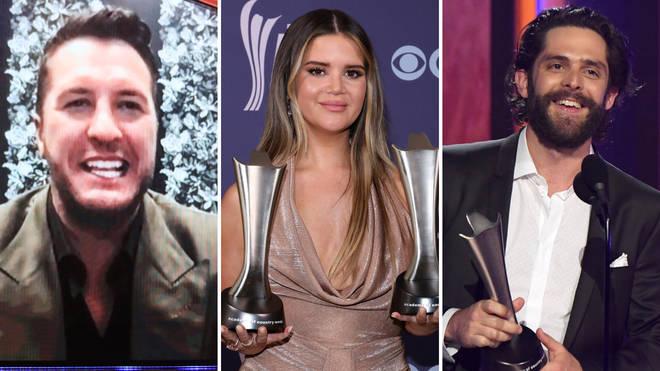 Luke Bryan, Maren Morris and Thomas Rhett triumph at 2021 American Country Awards - in pictures