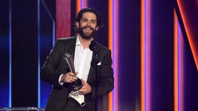 Thomas Rhett won Best Male