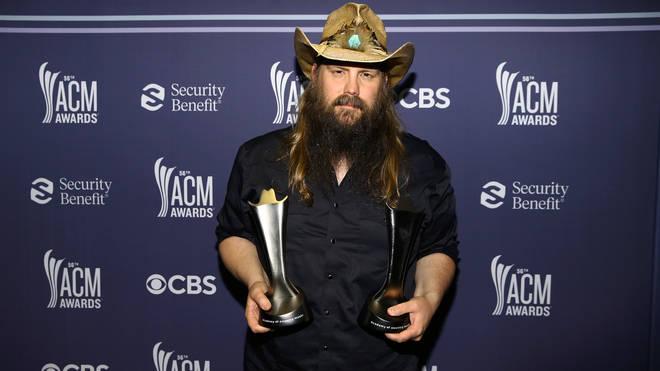 Chris Stapleton won two prizes