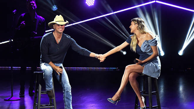 Kelsea Ballerini sang with Kenny Chesney