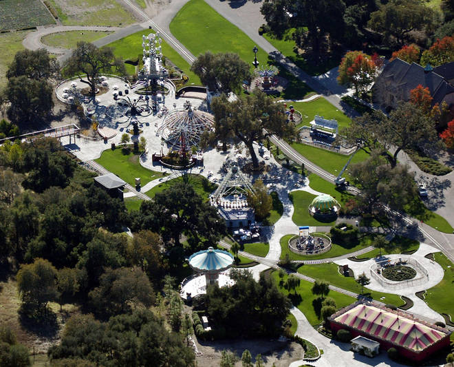 Michael Jackson's daughter Paris Jackson has given an interview detailing her childhood with father and what is was like growing up on the famous Neverland Ranch (pictured)