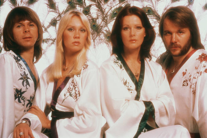 ABBA fans will be disappointed to learn there won't be a biopic about the Swedish group anytime soon. Pictured in 1976.