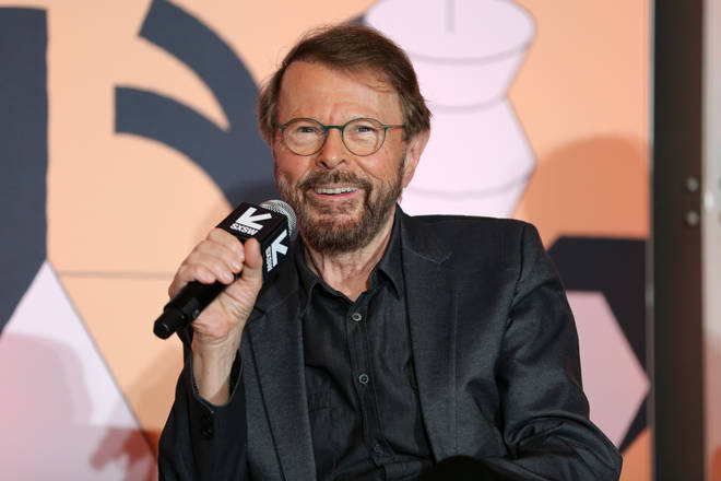 Björn (pictured) has ruled an ABBA biopic like Elton John's Rocketman out of the picture.