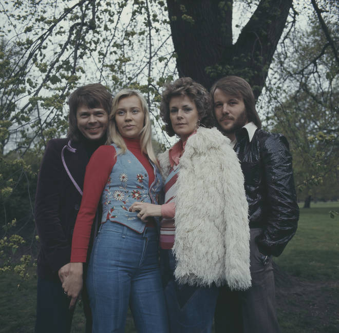 Björn and Agnetha (left) decided to divorce in July 1980, with Benny and Anni-Frid (right) divorcing not long after in 1981.