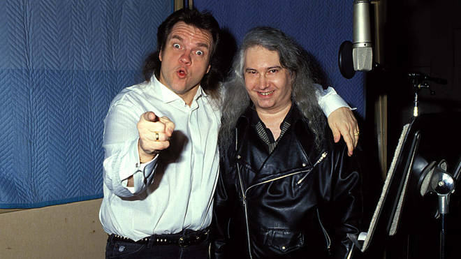 Meat Loaf And Jim Steinman in the early '90s