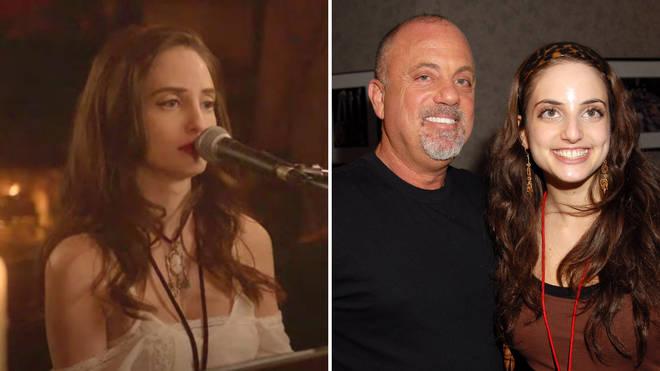 Billy Joel and his daughter Alexa Ray