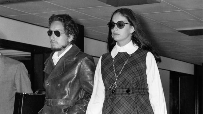 Bob Dylan and first wife Sara Lownds in 1969