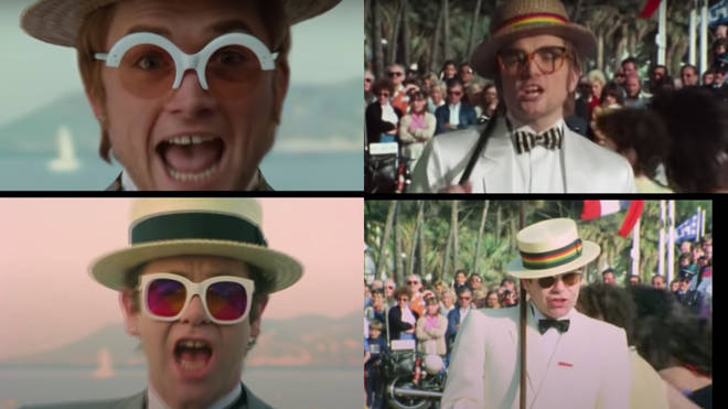 Elton John's iconic music video for 'I'm Still Standing' was recreated in 2019 for the Oscar-winning 2019 movie Rocketman – to incredible effect.