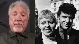 Singing sensation Tom Jones, who was married to his wife for 59 years, appeared on The One Show and told an emotional story of what she told him on her deathbed.