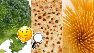 Spot the food in these close-up pictures