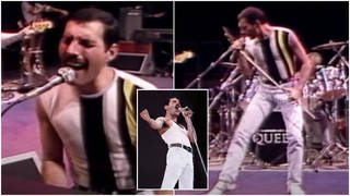 A video of Queen filmed 36-years-ago documents the band's rehearsals in the days leading up to Live Aid in 1985..