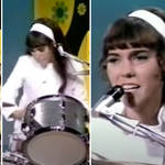 Karen Carpenter was an amazing drummer and singer