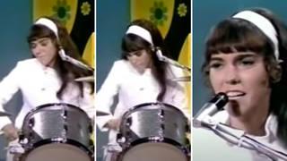 Karen Carpenter was an amazing drummer and singer