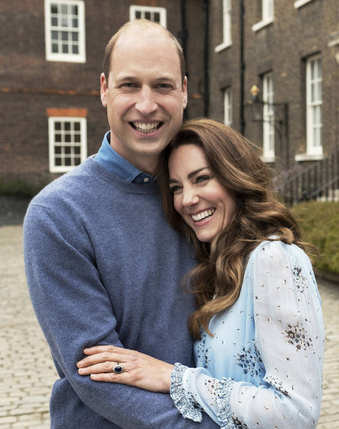 The Duke and Duchess of Cambridge have released new images of themselves to celebrate their ten year anniversary and the young couple look more loved up than ever before.