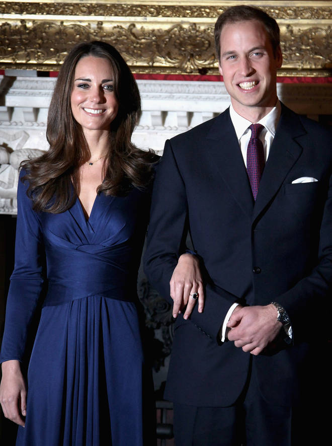 The couple dated for eight years and after a short lived break-up in 2007, reunited to announce their engagement to the world with a photocall at Buckingham Palace in 2010.
