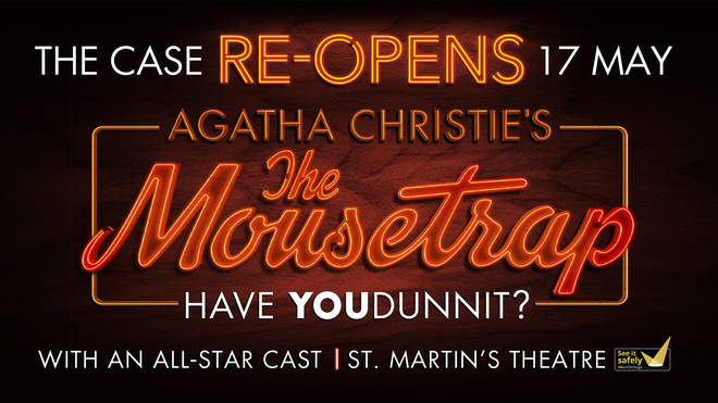Tickets are now on sale for Agatha Christie's nail-biting murder-mystery 'The Mousetrap' with the iconic show to resume with a new all-star cast.