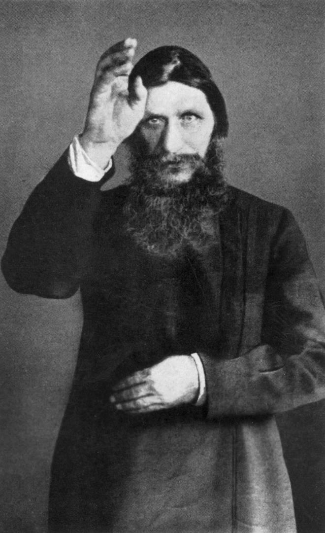 Grigori Rasputin in 1905