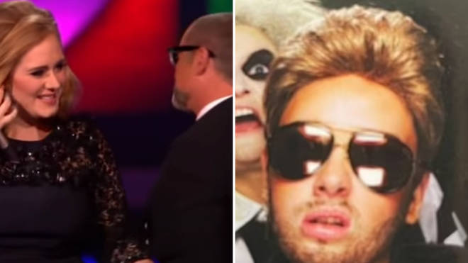 Adele transforms into George Michael