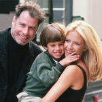 John Travolta has thanked his wife Kelly Preston for their three kids in a moving post almost a year after he death.