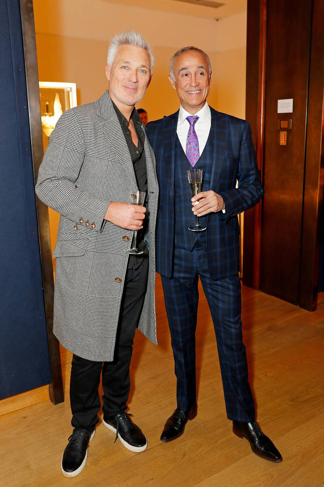 Martin Kemp and George Michael were lifelong friends. Martin pictured with Andrew Ridgeley in 2019.
