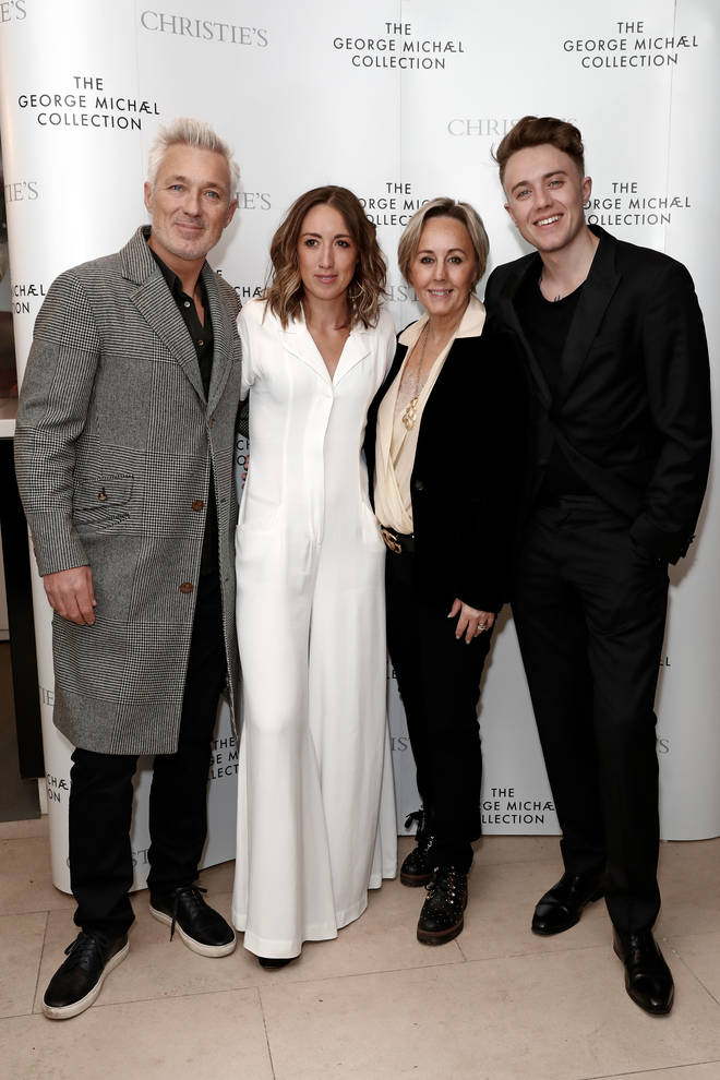 Speaking on The One Show in October 2020, Martin and Shirlie Kemp said that George had helped them so much in his lifetime. The Kemp family (pictured L to R): Martin Kemp, Harley Moon Kemp, Shirlie Holliman and Roman Kemp