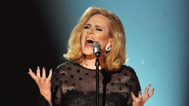 Adele in 2012