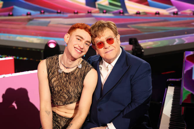 Elton John joins Olly Alexander for sensational Pet Shop Boys' 'It's A Sin' cover