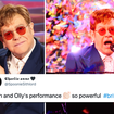 Brit Awards 2021: Elton John joins Olly Alexander for sensational Pet Shop Boys' 'It's A Sin' cover