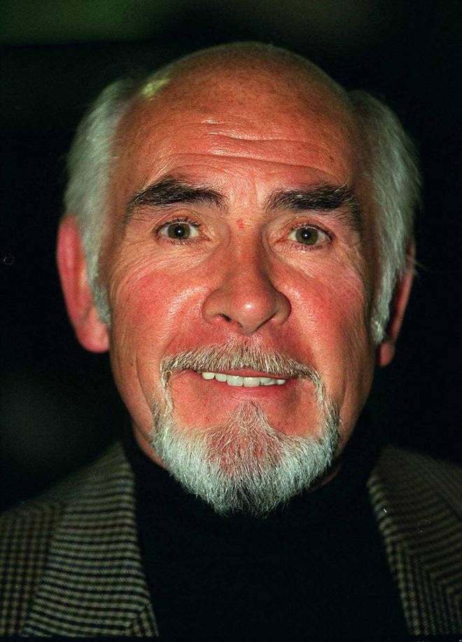 Sean Connery's brother was seven years younger than the James Bond star, and also experienced a career in acting. Pictured, Neil Connery in 1997