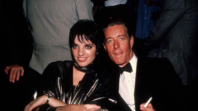 Liza Minnelli with fashion designer, Halston