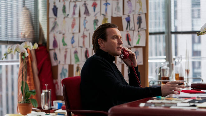 Halston is played by Ewan McGregor in the new Netflix series