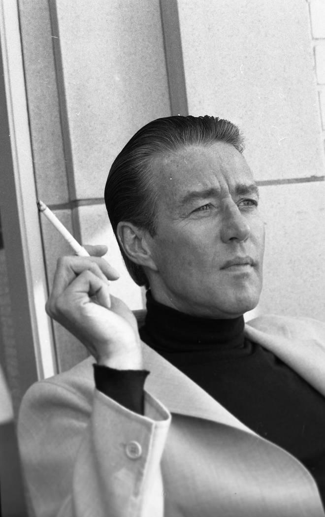 Fashion designer Halston interviewed at Mark Hopkins February 4, 1982