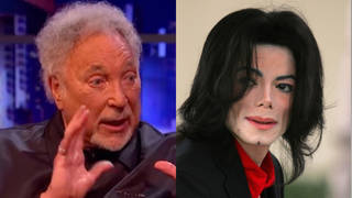 The Welsh crooner was a guest on The Jonathan Ross Show (left) when he revealed a hilarious story of the time he found none other than Michael Jackson (right) on his doorstep.