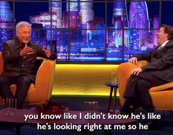 Tom Jones was a guest on Jonathan Ross' talk show on May 17 (pictured) when he told the extraordinary story.