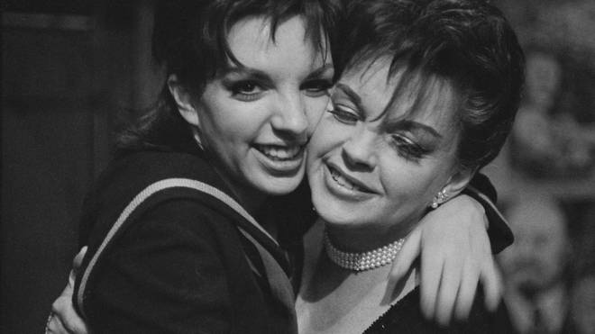 Liza and Judy in 1965