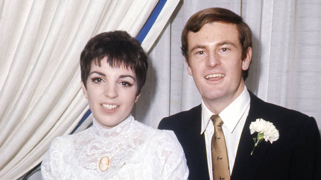 Liza Minnelli and Peter Allen on their wedding day in 1967