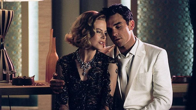 Robbie Williams and Nicole Kidman