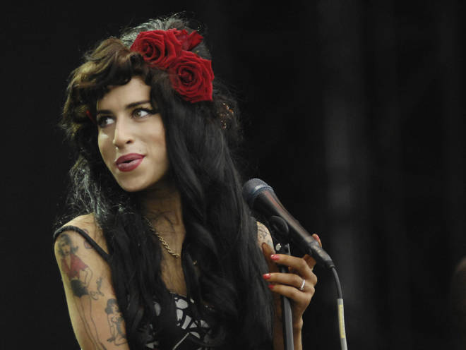 Amy Winehouse performs at V Festival