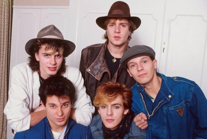 Duran Duran back in 1981, 40 years ago