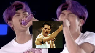 BTS star Jin pays tribute to Freddie Mercury