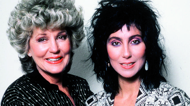 Cher with her mother Jackie