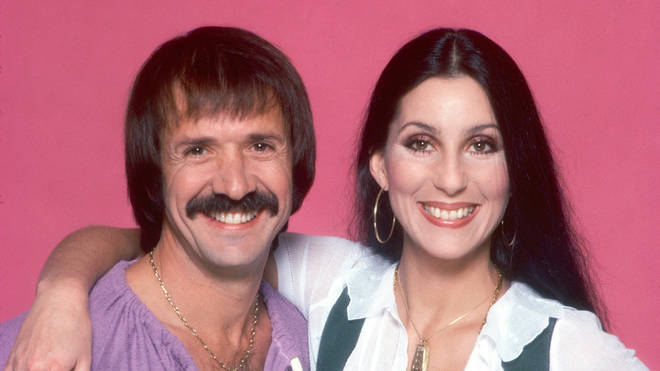 Sonny and Cher in 1977