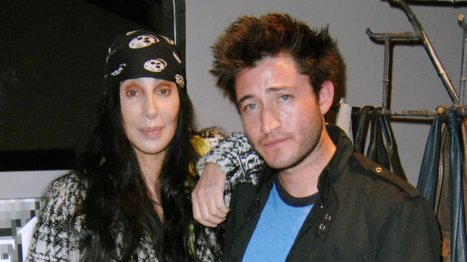 Cher with son Elijah in 2010