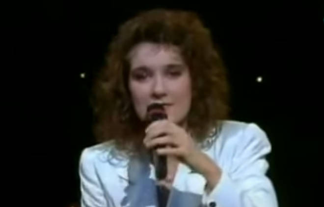 An unknown Celine Dion (pictured) became a worldwide sensation when she won the Eurovision Song Contest for Switzerland in 1988.