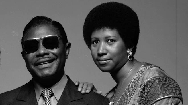 Aretha Franklin with her father CL Franklin
