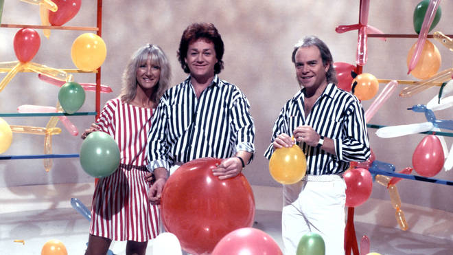 Freddy Marks (middle) with Rod and Jane