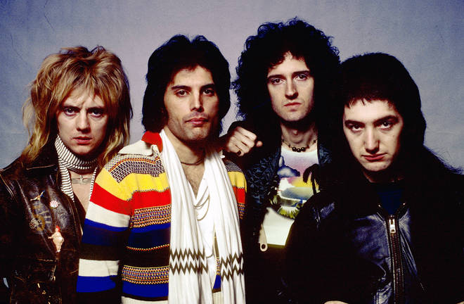 """""""Will I be playing Queen songs too? Absolutely!"""" Roger Taylor says of his upcoming tour. Pictured far left with Queen in 1977."""