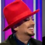 Boy George was a guest on The One Show yesterday (June 3) when Friends star David Schwimmer gave him a compliment we're sure he won't forget.