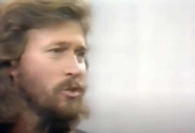 Released in 1967, 'Massachusetts' became the first of the Bee Gees five No.1 songs in the UK and would eventually go on to sell over five million copies worldwide. (Pictured, Barry Gibb)